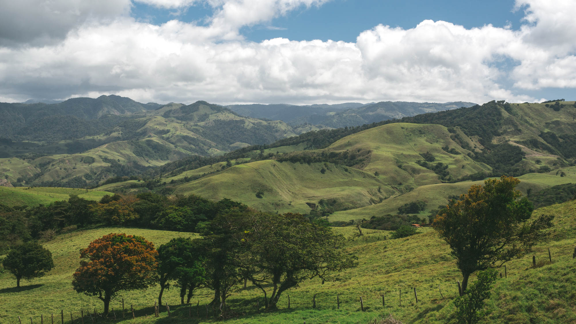 Photo de paysage pour agence de voyage au Costa Rica
