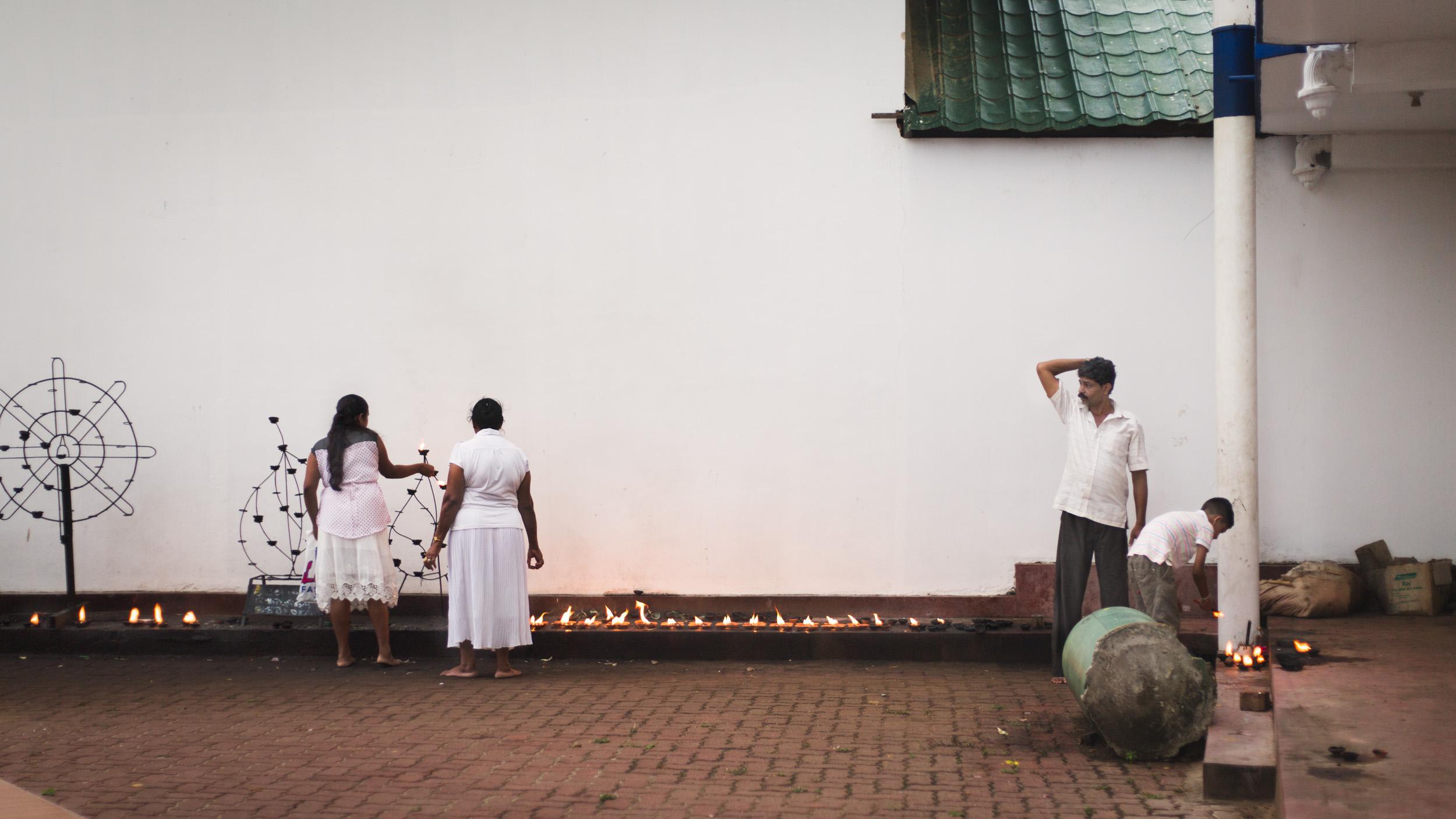 Reportage Sri Lanka - bougies encens