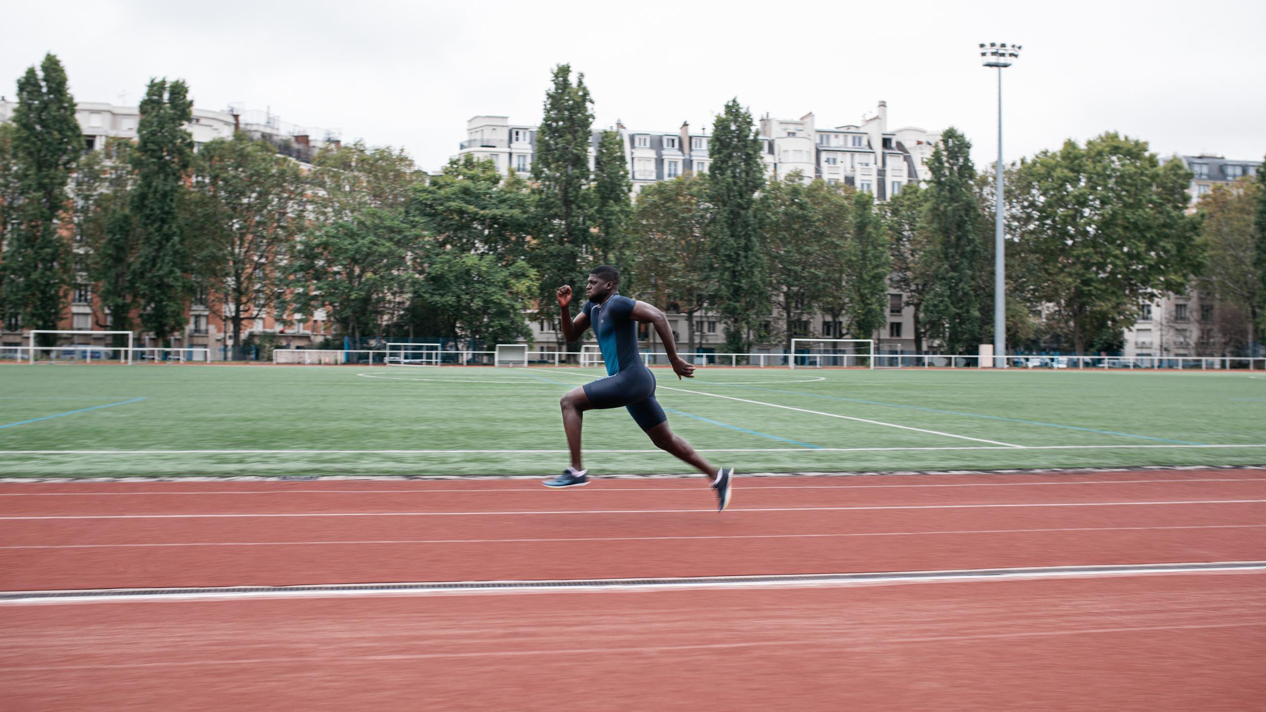 Publicité de produit de sport en photo